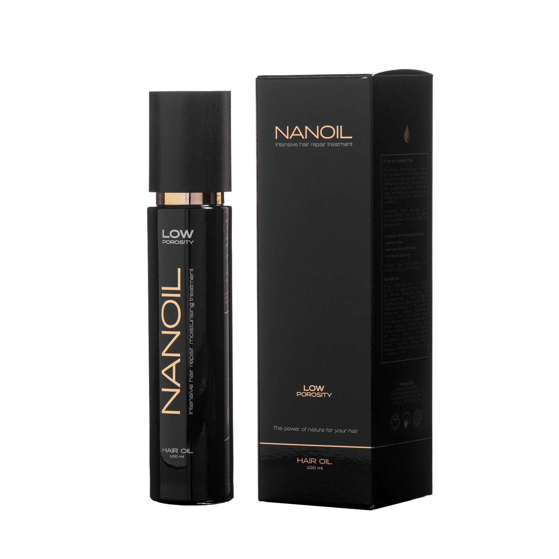 Haaröl Nanoil pflegt und regeneriert die Haare